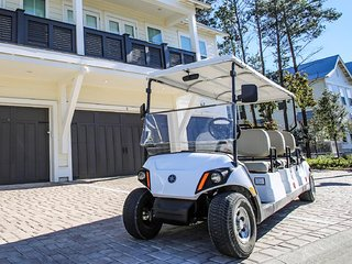 Prominence 30A Rental - 30A My Way - Golf Cart Included!