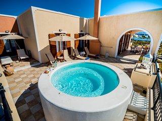 Luxurious Villa in Greece - Vineyard, Jacuzzi on Terrace, Sea Views