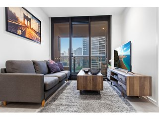 Modern apartment with city views and luxury extras