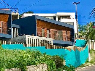 Villa de lujo en Nordeste de Brasil con vista mar y pileta privada.