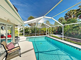 New Listing! St. Armands Circle Oasis w/ Heated Saltwater Pool, Walk to Beach