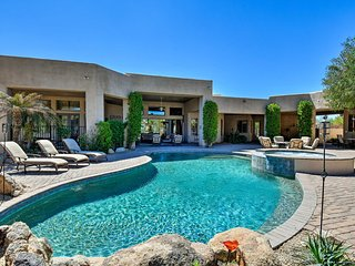NEW! 'Cactus Corridor' Luxurious Scottsdale Villa!