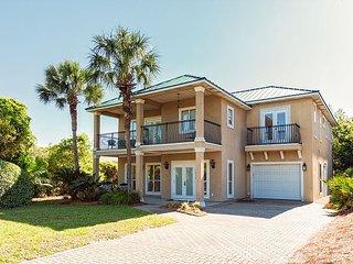 New Listing! Home in Gated Community w/ Golf Cart & Pool, Walk to Beach