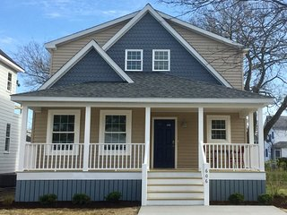 CAPE CHARLES BEACH BUNGALOW - NEWLY BUILT 2019, 1st FLOOR MASTER SUITE