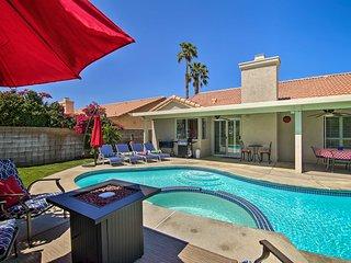 NEW! Modern Palm Desert Paradise w/ Private Pool!
