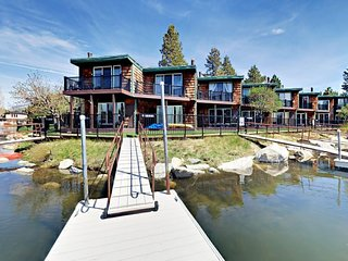 South Lake Tahoe Keys Waterfront Condo with dock