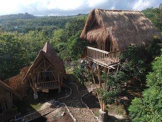 Penida Bambu Green - TREE HOUSE - RUMAH POHON ( NEW ! )