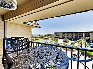 Beautifully Renovated Retreat w/ Direct Ocean Views | Steps From the Beach