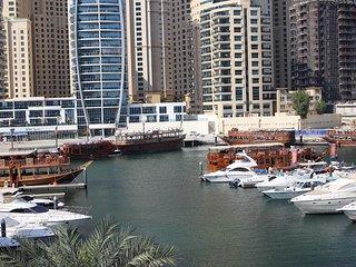 Marina View 2 Bedroom w/ WiFi + Balcony