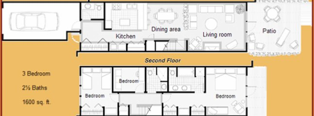 Townhouse floorplan (mirror version of ours)