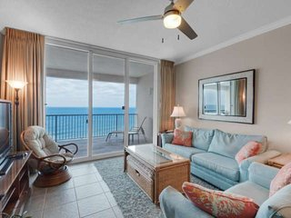 Two Bedroom Plus Bunk Room Beachfront Second Floor Condo Directly on the Gulf