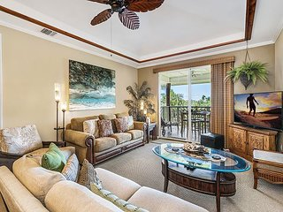 Waikoloa Beach Villas E32-Ocean Views-Summer Special FREE Night w/7 Nights
