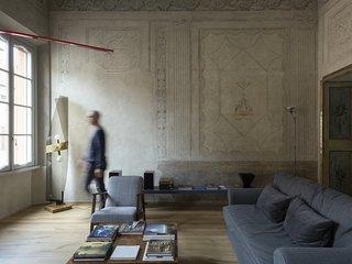 Appartamento affrescato di 180 mq in palazzo seicentesco del centro di Mantova