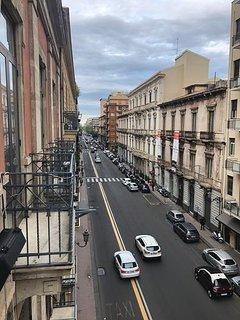 Vista balcone lato mare (Corso Italia)
