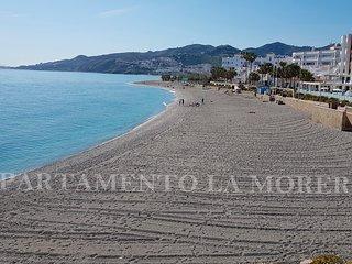 Centro de Nerja. 300m playas La Torrecilla y El Playazo.