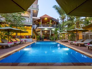 Siem Reap Home 3 bedrooms for 6 persons with breakfast and Pick up service