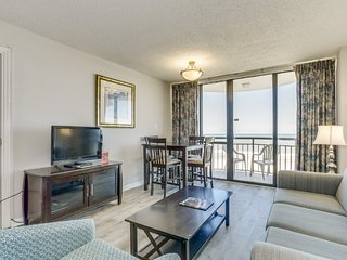 Oceanfront Private Balcony Condo at Meridian Plaza