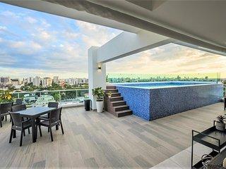 Santo Domingo Downtown Modern Pool Apartment ✔️