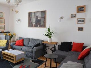 Luxueux et moderne appartement de 3 pieces  dans la vieille ville (6-8pers)