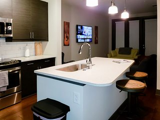 Nashvegas- Lux One Bed Apt, Downtown with Free Parking