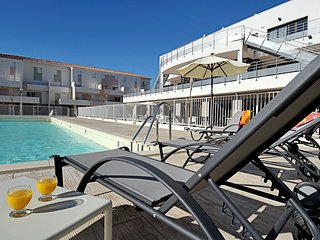 Appartement duplex abordable a 5 mins de la Marina | Acces Piscine
