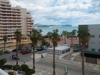 A16-3D15 Apartamento con vistas al mar en Calpe.