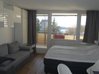 Apartment mit Blick uber den Bayrischen Wald ,oberhalb von Sankt Engelmar