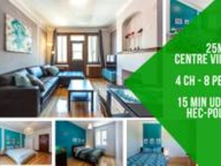 4 bedrooms apartment, CDN area, 20min downtown