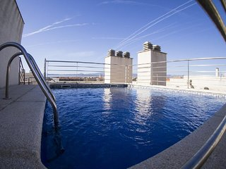 Two-Bedroom Apartment with Rooftop Pool