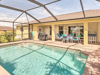 NEW! Cape Coral Family Home w/Grill, Pool & AC!
