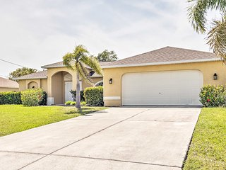 Cape Coral Family Home w/Grill, Pool & AC!