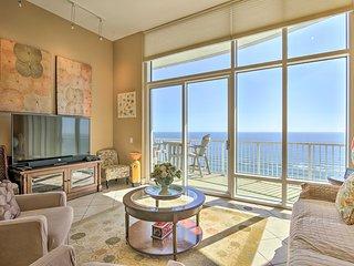 28th-Floor Resort Condo with Balcony + Ocean Views