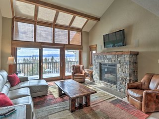 NEW! Bigfork Condo at Marina Cay on Flathead Lake!
