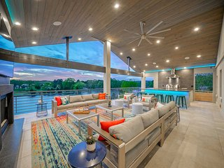 NEW! Lakefront Hot Springs Home w/Luxury Deck!