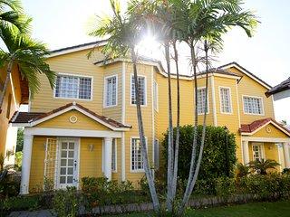 Punta Cana Paradise 3 Bedroom Villa Close to Beach