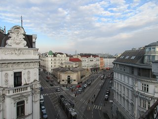 Beautiful apartment roof top terrace historic Vienna