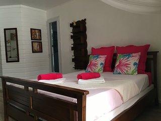 Studio Bleu Indigo dans residence avec piscine