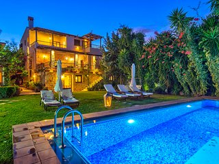 Private pool villa Archontariki with amazing sea view
