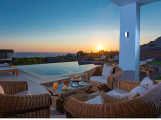 Luxury Irida Villa in Hersonissos with private heated pool and near sea