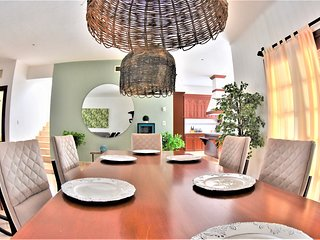 SM 15 2 . Hermosa Villa con Ubicacion Piscina Actividades