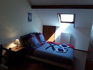 Confortables chambres doubles au centre ville de Lourdes
