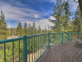 NEW! Lake Arrowhead Mountain Home w/ Deck & Grill!