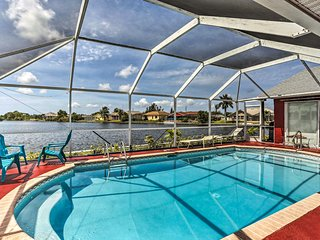 NEW! Waterfront Cape Coral Home w/Pool, Near Beach