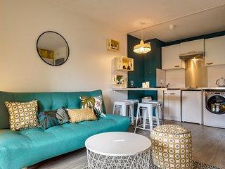 Appartement T2 avec parking dans résidence privée