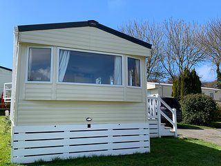 3 bedroom (6berth) static caravan near Newquay