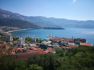 Breathtaking view apartment Budva