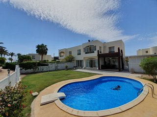 Villa with private pool in sunny Sharm el Sheikh , located in Nabq Bay La Strada