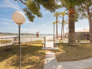 Planta Baja, 4 pax, acceso directo playa, Wifi, AC!
