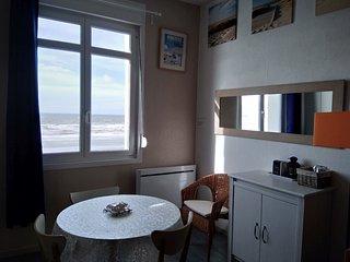 Studio 'Coucher de Soleil', vue mer, à Wimereux sur la côte d'opale