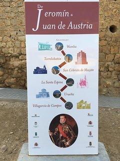 Descubre la ruta de Jeromín a Juan de Austria